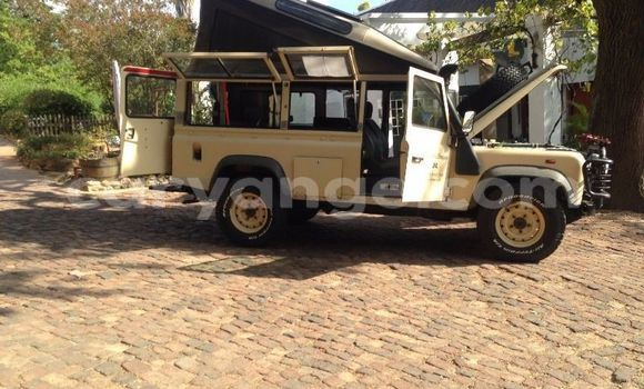 Buy Used Land Rover Defender Beige Car in Windhoek in Namibia