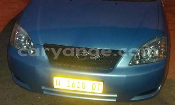 Buy Used Toyota Runx Blue Car in Otjiwarongo in Namibia