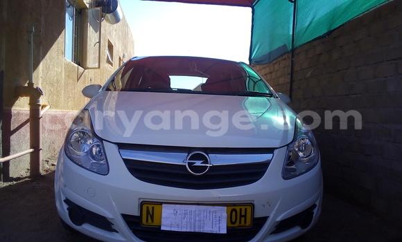 Buy Used Opel Corsa White Car in Okahandja in Namibia