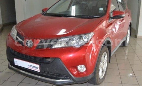 Buy Used Toyota RAV4 Red Car in Otjiwarongo in Namibia