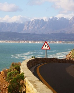 Thumb cape town coastal road sea south africa ocean 574007